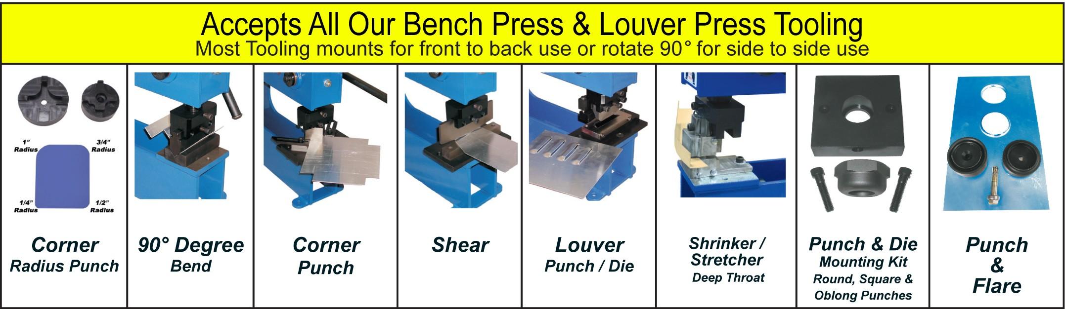 Mittler Bros  2240-44M Quad Manual Bench Press : Mittler Brot